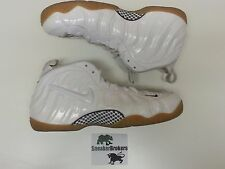Nike Air Foamposite Pro White/Gorge Green/Gym Red Size 16. 624041-102
