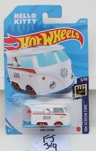 Hot wheels HW Screen Time Kool Kombi Hello Kitty white 3/10 FNQHotwheels FJ319