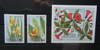 Grenada Grenadines 1984 UPU Congress Hamburg set & Miniature Sheet MNH