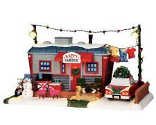 NEW LEMAX CHRISTMAS VILLAGE HAPPY CAMPER, B/O (4.5V) #64060