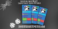Bubble Gum Simulator 3x Dice Split Secret Pet Bundle [Brand New] Super OP