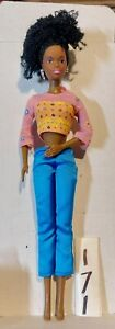Black African Christy or Nikki Barbie Doll or other Curly Hair