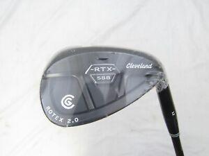 New Cleveland RTX 588 2.0 58* Wedge - Rotex Wedge Flex Graphite Shaft