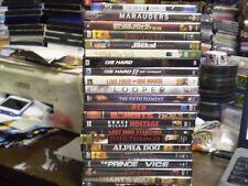 (21) Bruce Willis Dvd Lot: (3) Die Hard Looper Red Alpha Dog Prince Marauders