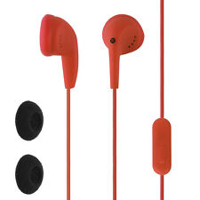 Circuit City In-Ear Wired Earbud with In-Line Microphone and Remote (Red)