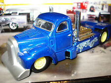 """HOT WHEELS """"TORQUED OFF' SEMI TRUCK TRACTOR CAB 1/64 DESIGNED BY BAUER"""