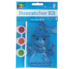 Assorted Suncatcher Painting Kit Great Home&bag Decoration Kids DIY Art Creation Love Lock