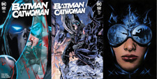 Batman Catwoman #3 A B C Variant Set (Nm) Presale - Phantasm Jim Lee Charest Dc
