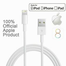 100% Genuine Apple iPhone 7 6S Plus 5S 5C Lightning Sync Charger USB Data Cable