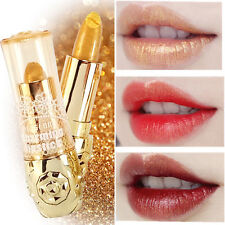 Mermaid Lipstick Long Lasting Shimmer Gold Metallic Lip Blam Eyeshadow