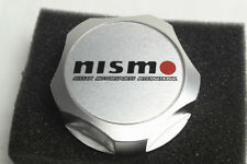 1Pcs Luxury Silvery Nismo Aluminum Car Oil Filler Cap Racing Engine Tank Cover