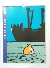 Calendrier Tintin et Milou 2001 format normal / HERGE / MOULINSART / BD