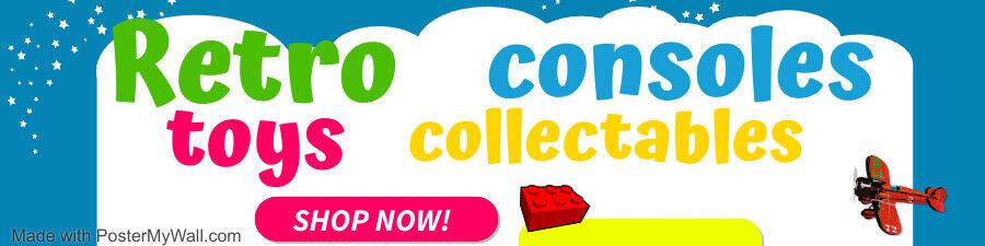 Retro Consoles, toys & collectables