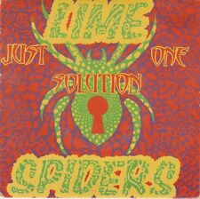 """LIME SPIDERS - JUST ONE SOLUTION 7"""" Pic Sleeve Vinyl Single Aust 1987 GARAGE NM"""