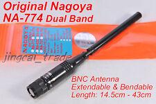 Nagoya NA-774 DUAL BAND Extendable Bendable Antenna BNC for ICOM Marantz Yaesu