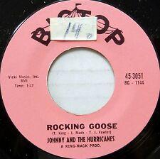 JOHNNY & THE HURRICANES 45 Rocking Goose BIG TOP Rock n Roll ORIGINAL #BB655