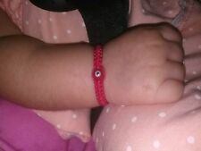 Baby Red String Bracelet, Red evil eye,good luck charm