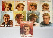 TANZANIA TANSANIA 1996 2591-99 Hollywood Actor James Dean Schauspieler Kino MNH