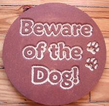 """Dog plaque plastic mold plaster concrete mould  10"""" x 3/4"""" thick"""