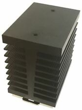 Relé de estado sólido Riel Din disipador de calor para su uso con una sola fase SSR