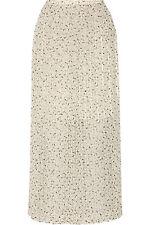 See By Chloé Printed Fil Coupé Chiffon Maxi Skirt UK8/ IT40 RRP£325