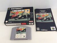 Nintendo 64 N64 F 1 World Grand Prix 2