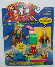 1992 Tiger Toys Captain Planet Linka Planeteer Eco Commands Action Figure MOC