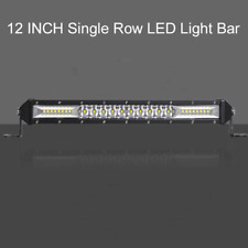 12inch 312W 8D Super Slim Single Row LED Light Bar  Combo Driving For JEEP