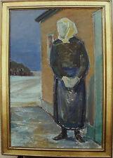Poul Henrik Jensen 1905-1990, Bauersfrau, datiert 1969