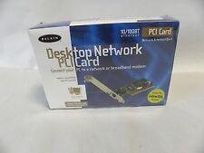 NEW Sealed Belkin Desk Top Network PCI Card (A4)