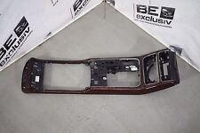 original Audi A8 4H Console centrale Partie supérieure Bois de racine Décor