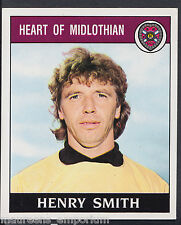 Panini Football 1989 Sticker - No 398 - Hearts - Henry Smith (D1)