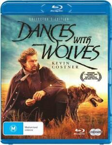 DANCES WITH WOLVES (COLLECTOR'S EDITION) (1990) [NEW BLURAY]