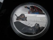 2 oz. $30 99,99% Fine Silver Coin Batman v Superman: Dawn of Justice -189.95 CAD