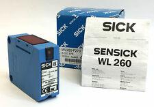 Sensick WL260-F270 Photoelectric Retro Reflective Dual Lens Sensor 6020976