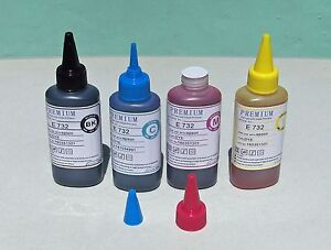Premium PIGMENT ink for BROTHER printers 100ml easy pour cap