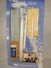 Art Set Supplies Sketching Chalk Charcoal Eraser Blending Stumps Sanding Pad M