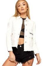 Manteaux et vestes blanc coton pour femme taille 36