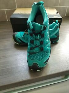 SALOMON XA PRO 3D W QUICKLACE TRAINER RUNNING SHOES SIZE UK 6.5 EUR 40 USA 8.