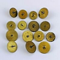 Lot of Verge Fusee Pocket Watch Center Wheel Parts for Watchmakers (D165)