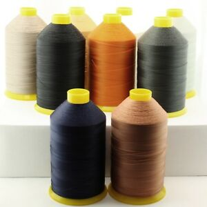 Bonded Nylon Thread #69 Tex 70, 10.5 Oz 3,827 Yds Upholstery Leather Canvas Shoe