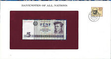 Banknotes of All Nations GDR East Germany 1975 5 Mark UNC P 27a IH008449 Low