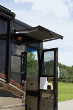 "RV/CAMPER/TRAILER CAREFREE MARQUEE OVER THE DOOR (OTD) AWNING BLACK 56"" With LED"
