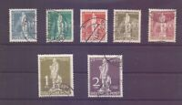 Berlin 1949 - UPU Stephan - MiNr. 35/41 rund gestempelt - Michel 320,00 € (257)