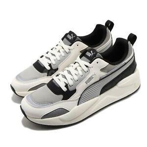 Puma X-Ray 2 Square Pack Whisper White Grey Black Men Casual Shoes 374121-03