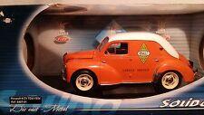 Renault 4 CV Tolè Garage Service 1954 Solido 1:18 (rare)