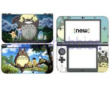 Anime My Neighbor Totoro  Vinyl Skin Decals Sticker for Nintendo New 3DS XL 2015