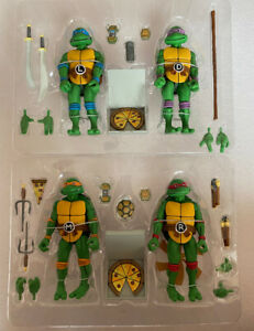 NECA Teenage Mutant Ninja Turtles Genuine Model Action Figures Toys no Box