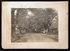 MORTIBOY'S LANE, WINCHMORE HILL, ENFIELD, NORTH LONDON Original Edwardian Photo