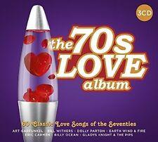 70'S LOVE ALBUM - 60 SONGS OF LOVE (ART GARFUNKEL/T.REX/DOLLY PARTON) 3 CD NEW+